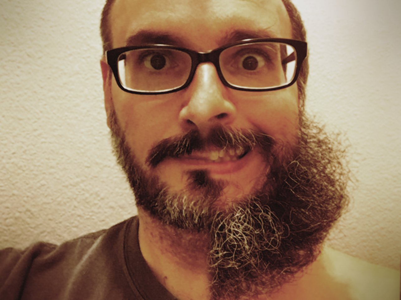 Long beard photo